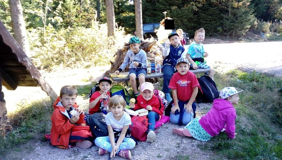 Wandertag der Klassen 1 im September 2018