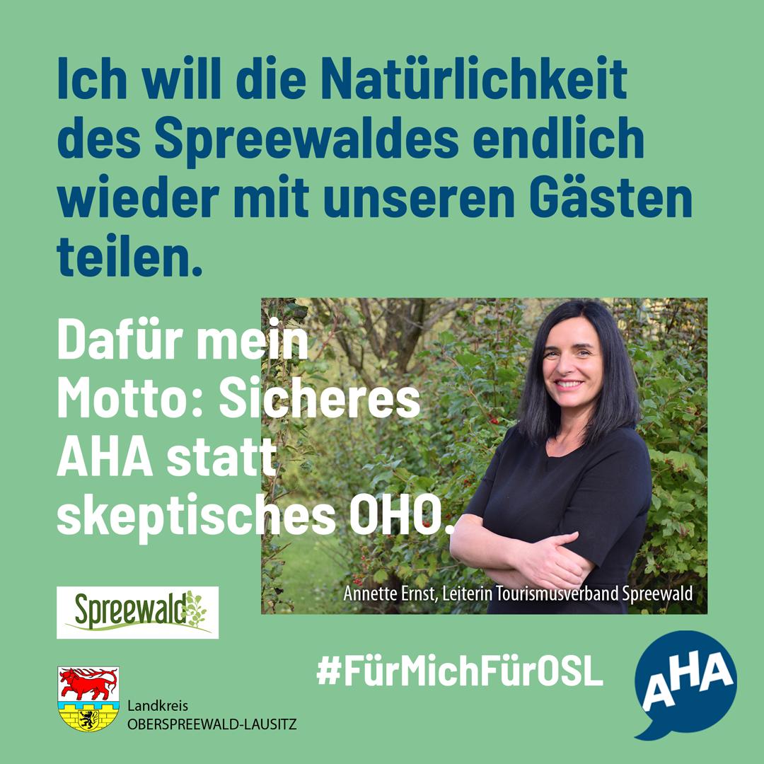 #fürmichfürosl - Tourismusverband Spreewald