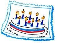 Grafik Geburtstagstorte