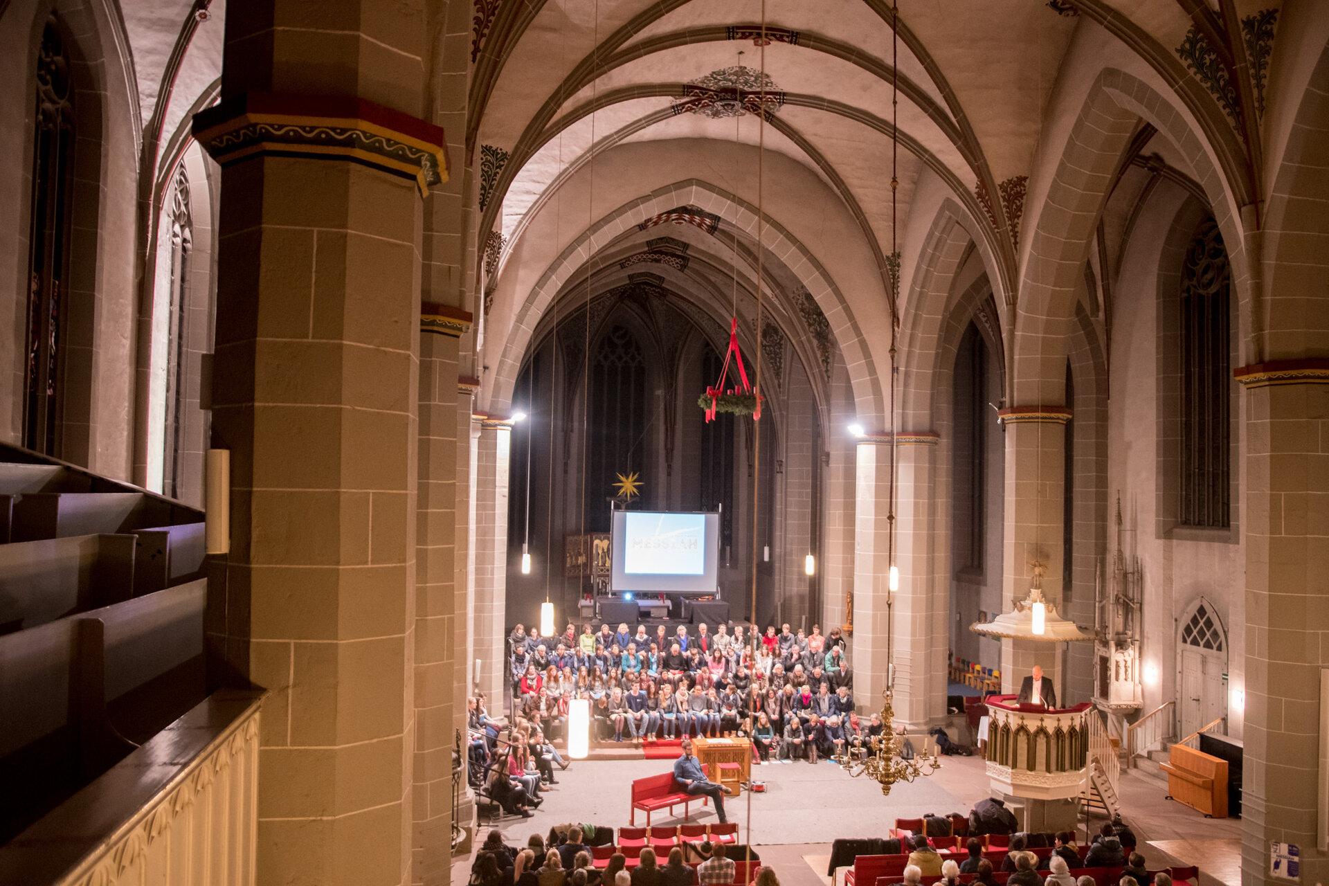 Kantorei St. Sixti - Konzert-Einführungsabend