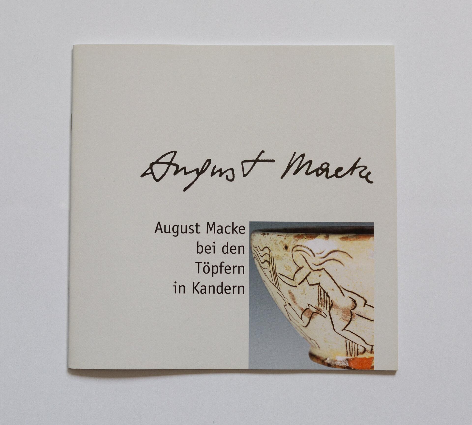 Broschüre August Macke