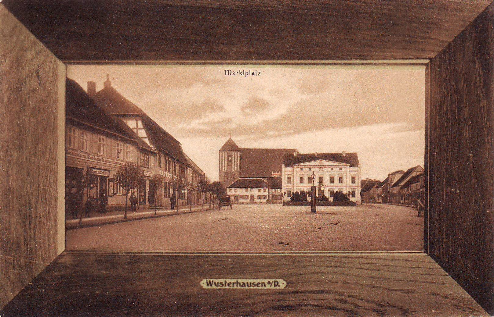 Markt im Rahmen Quelle: Archiv Wegemuseum