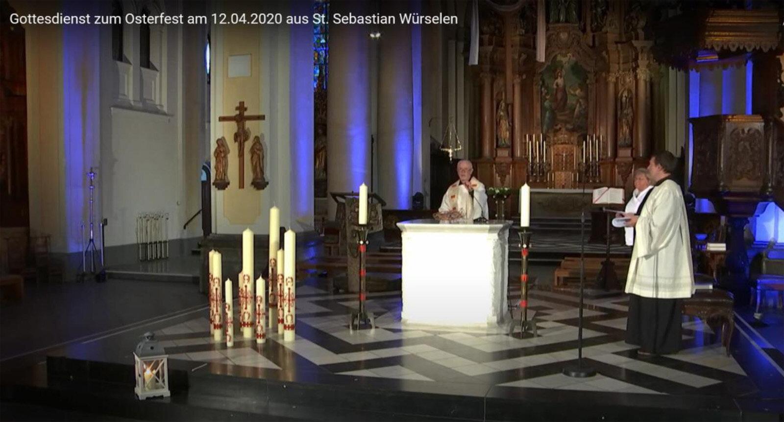 Ostermesse 2020 St. Sebastian Würselen