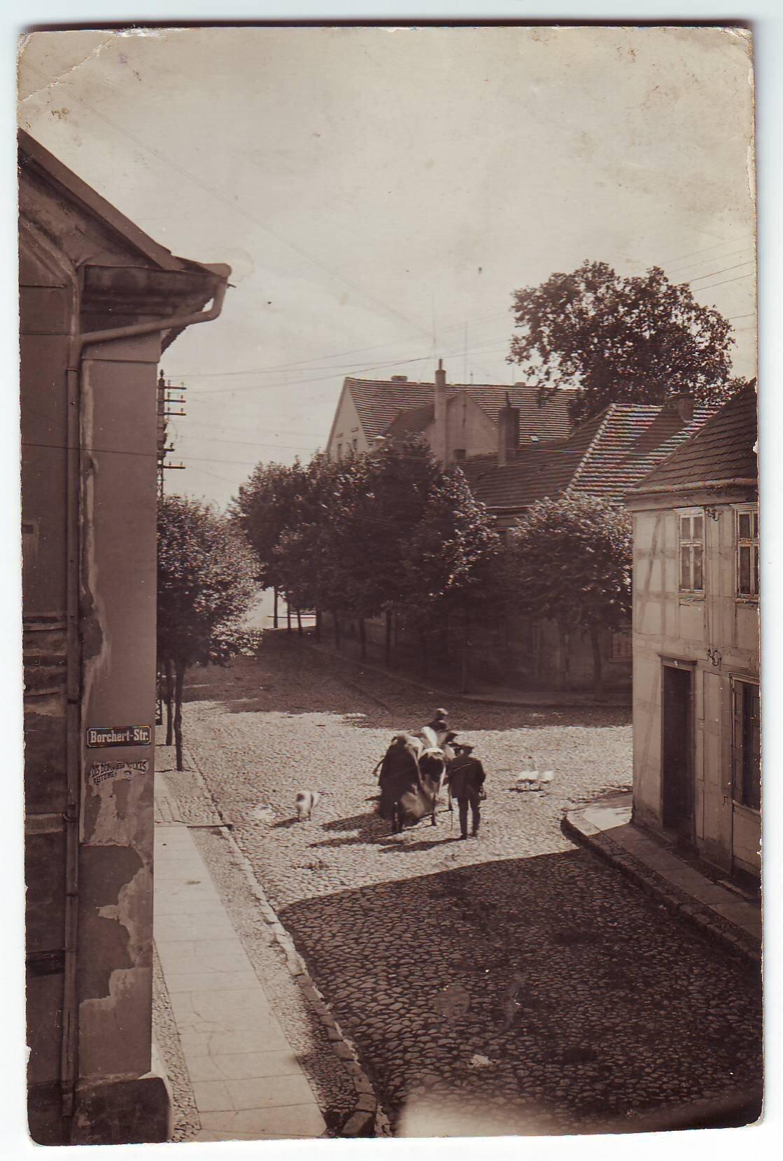 Seitenansicht Ostseite Quelle: Archiv Wegemuseum