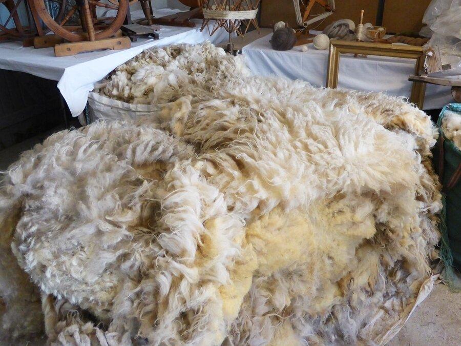 sortierte lockere Skudden Wolle