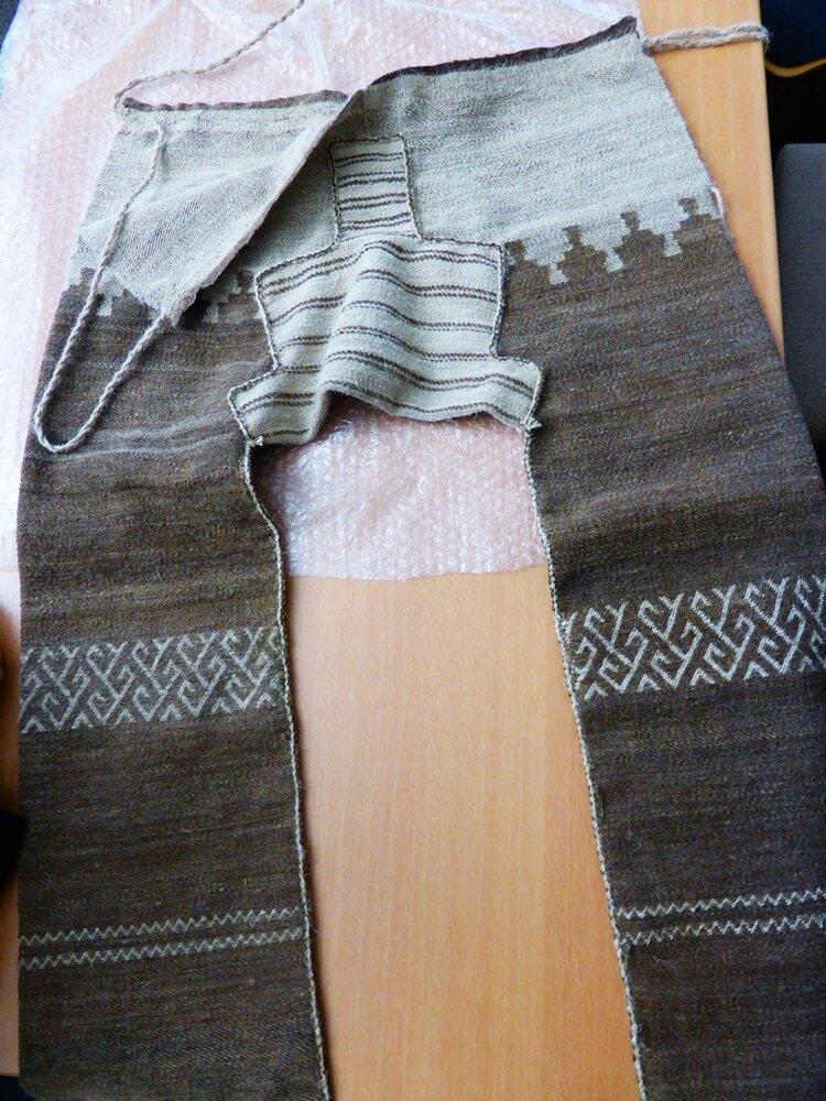 die neue Hose - aus Skuddenwolle