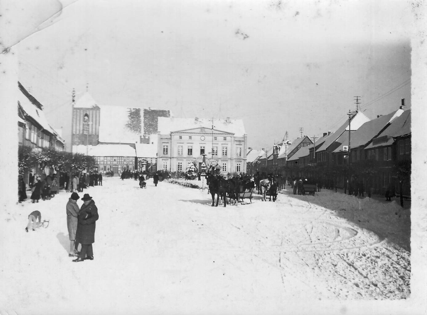 Winter 1928 Foto: Archiv Wegemuseum