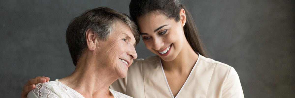 Polnische Pflegekraft von Pflegeassistenz Maria