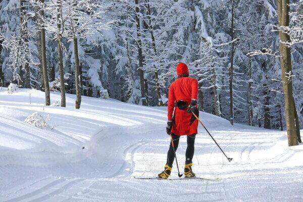 Langlaufen Winter