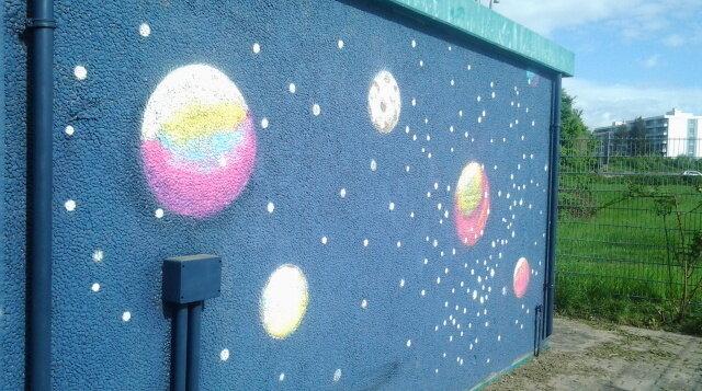 EKS - Kunstwerk von Schüler*innen