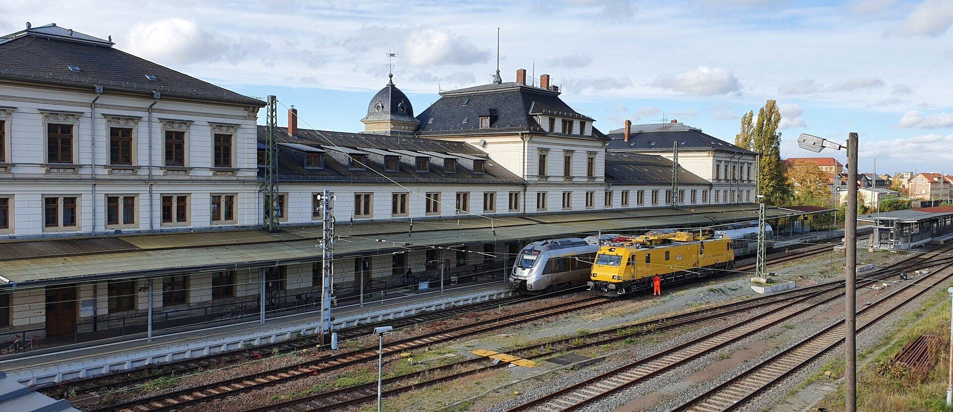 Bahnhof Altenburg