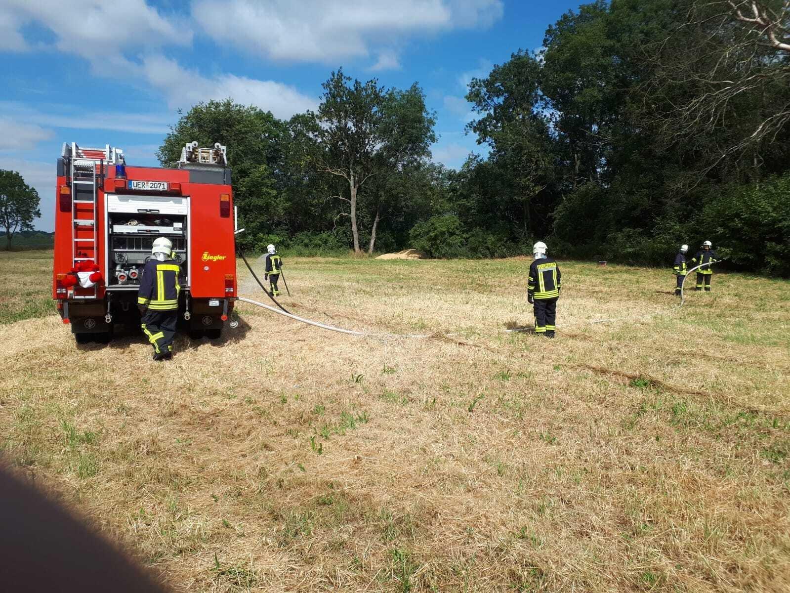 mobiles Löschen bei Vegetationsbränden