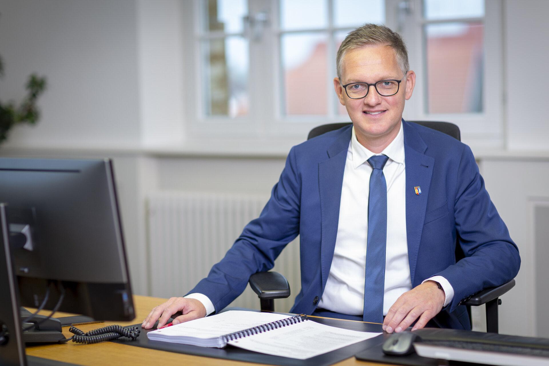 Bürgermeister Ferdinand Burger