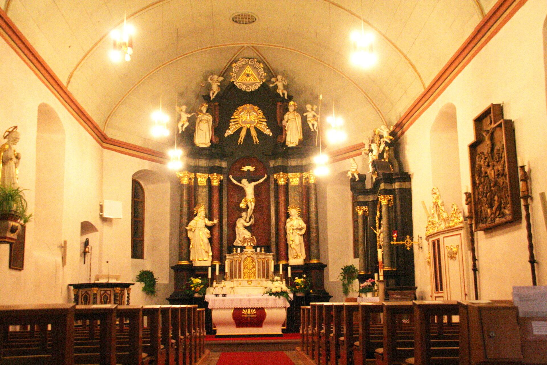St. Ursula Innenansicht