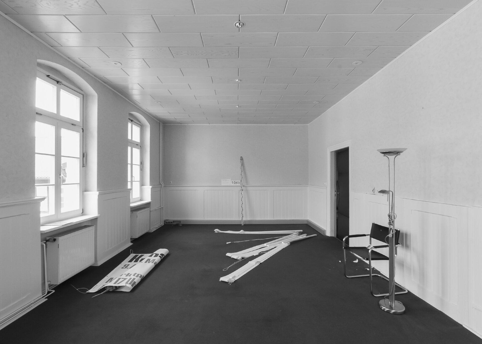 Trauzimmer vorher Foto: Gemeinde Wusterhausen/Dosse