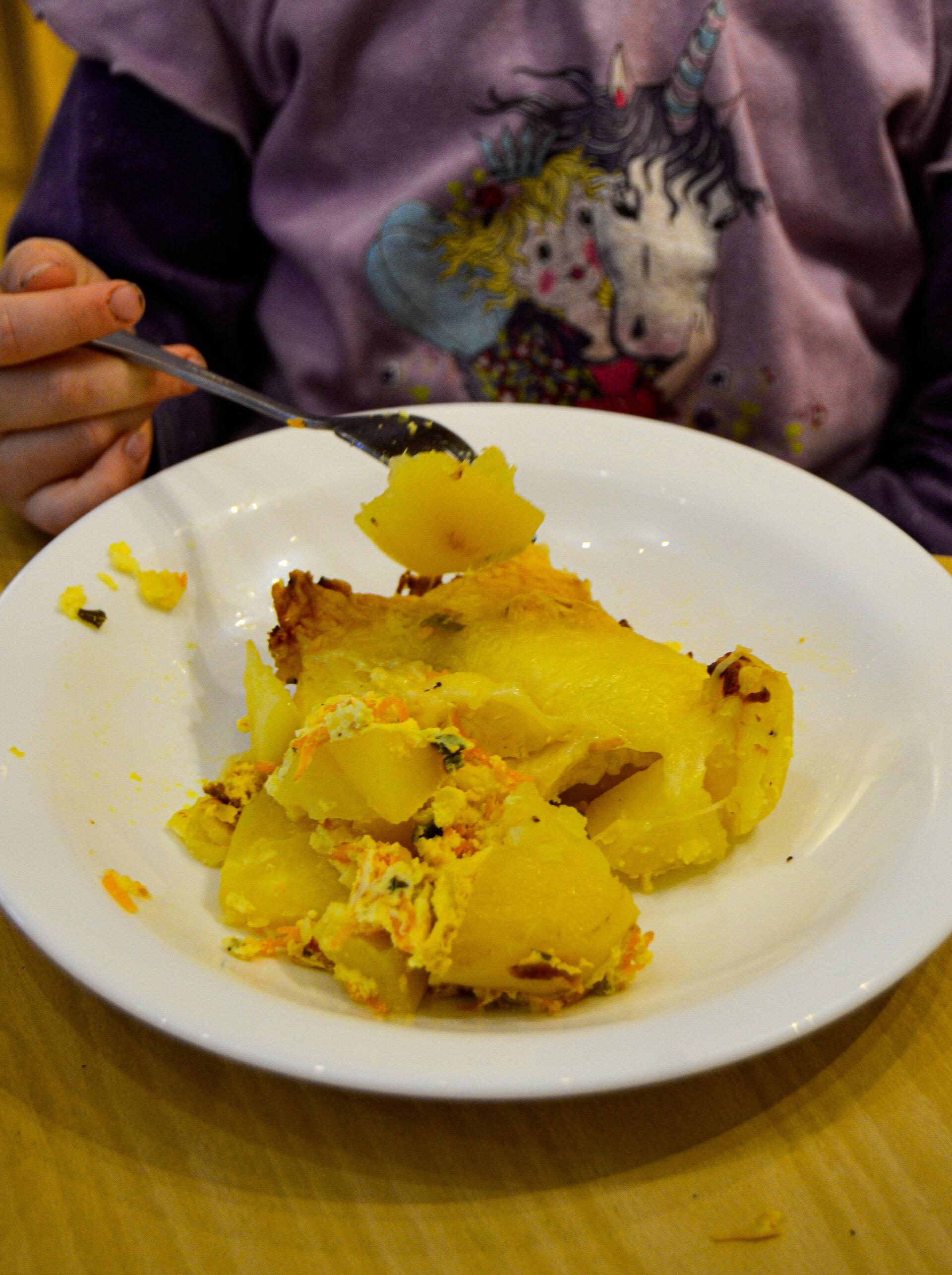 Mittagessen Kartoffeln