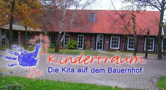 Kita Kindertraum Logo mit Bild