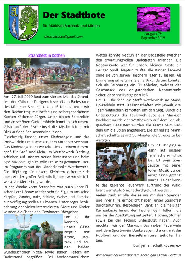 Ausgabe 79 - September 2019