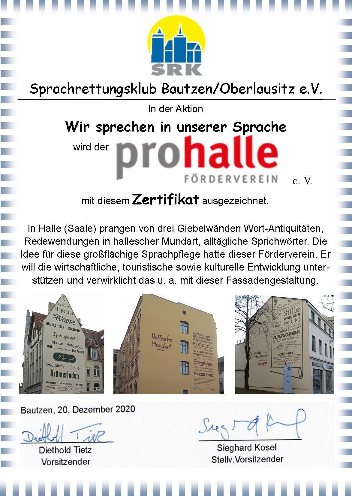 Pro Halle 2020