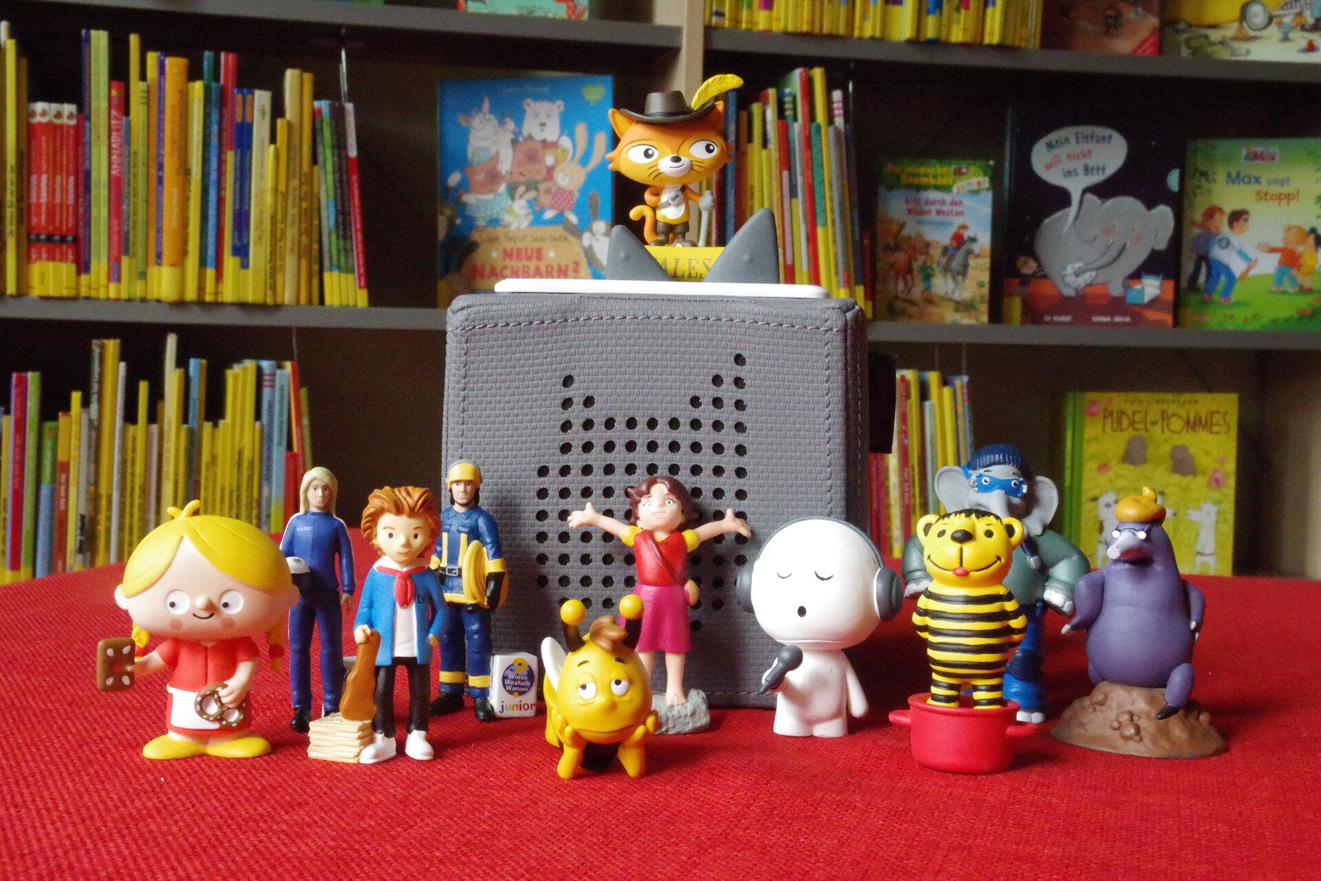 Tonies in der Kinderbibliothek