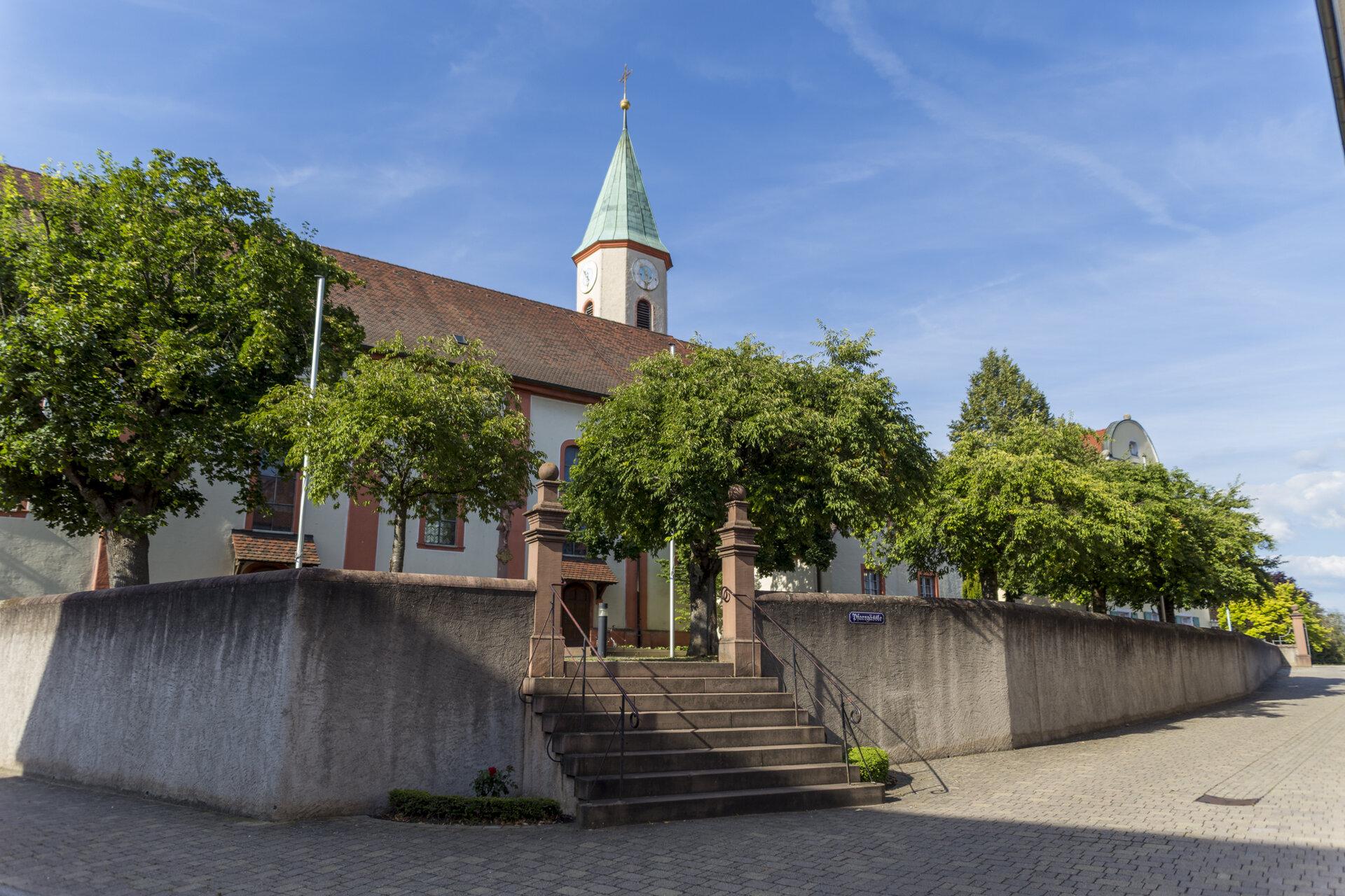 St. Blasius Kirche Wyhl