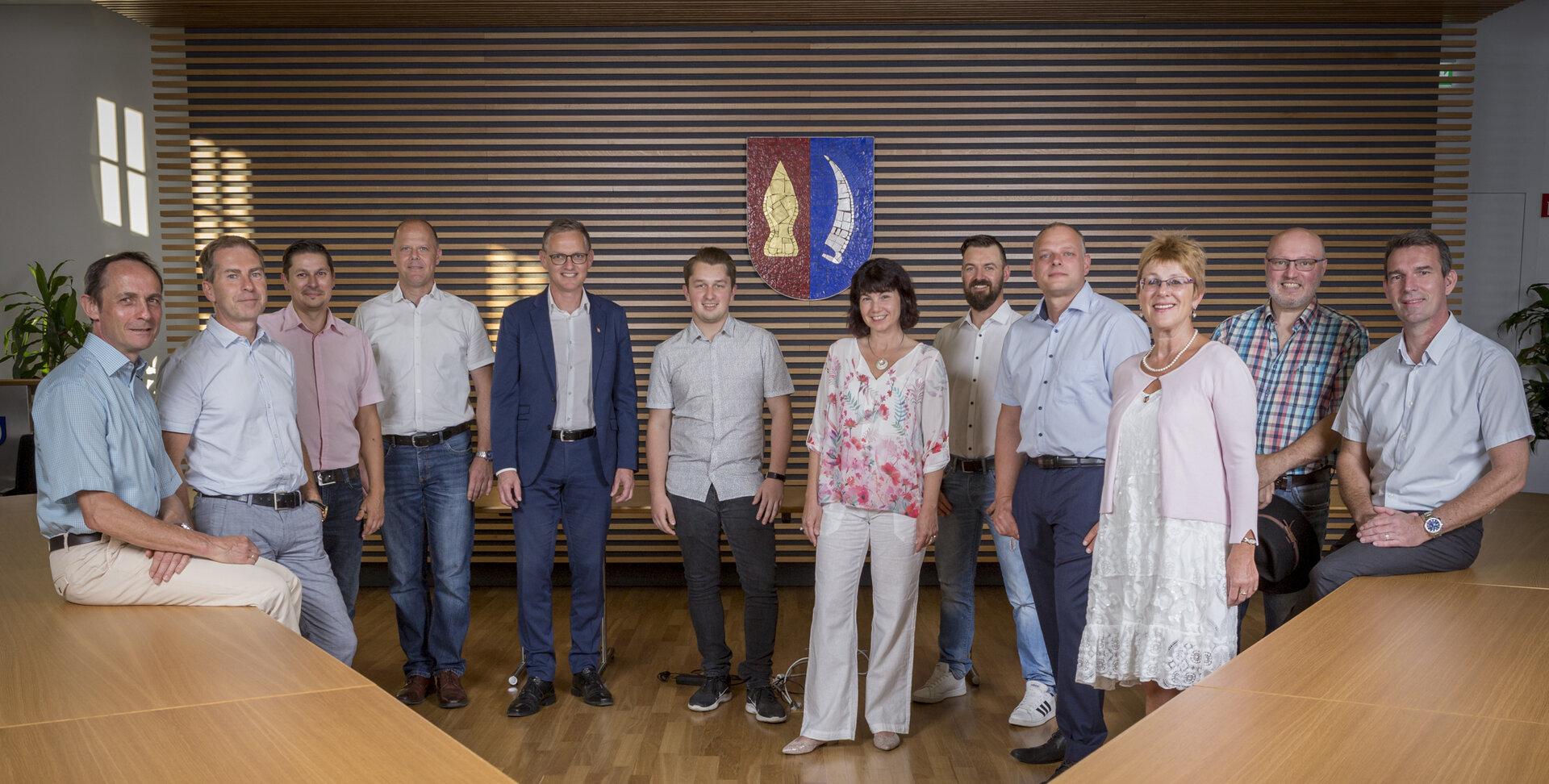 Gruppenbild Gemeinderat