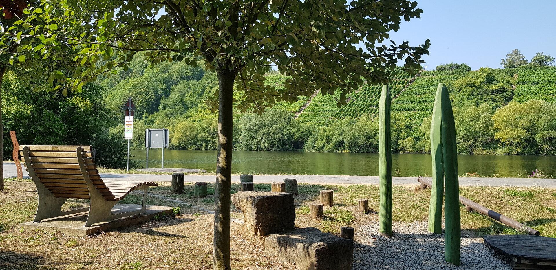 Spielplatz am Neckarradweg