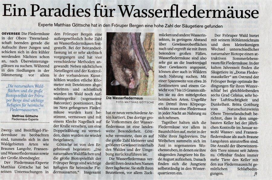 Flensburger Tageblatt vom 18.09.2019
