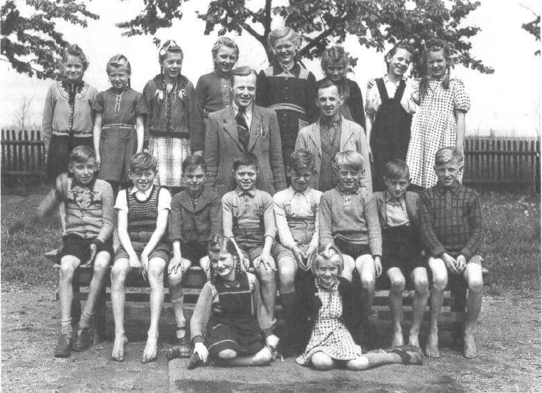 Schulklasse von 1949