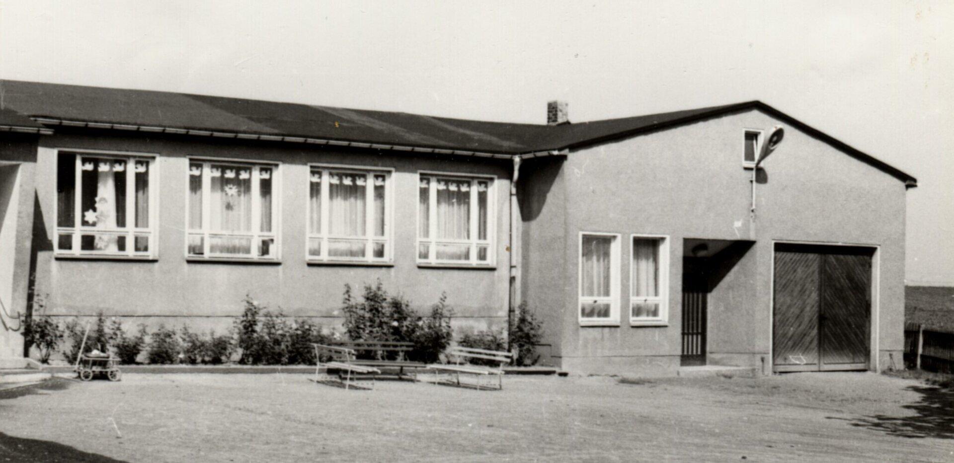Neubau Nebengebäude 1965