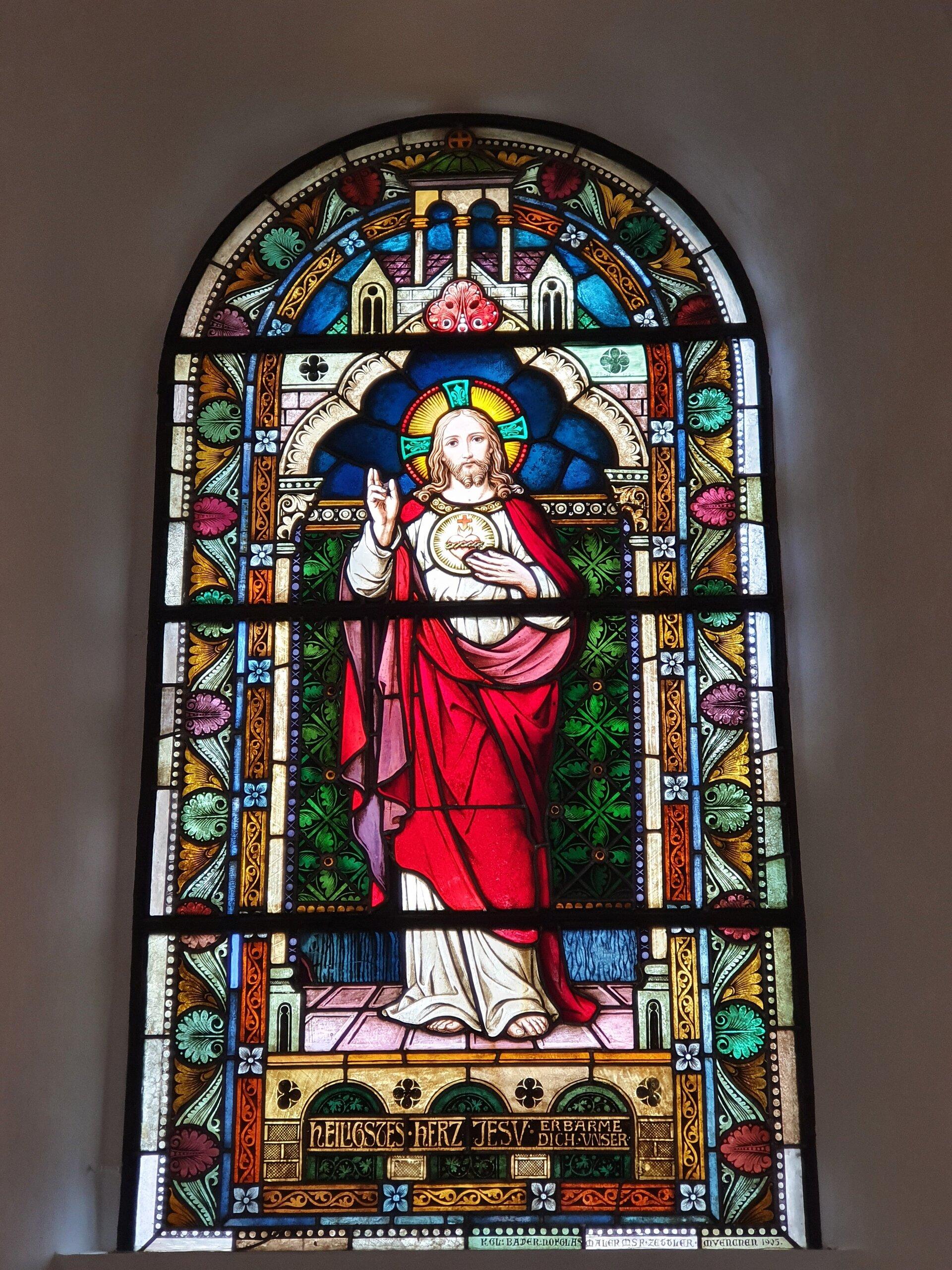 Dieterode Fenster Jesus