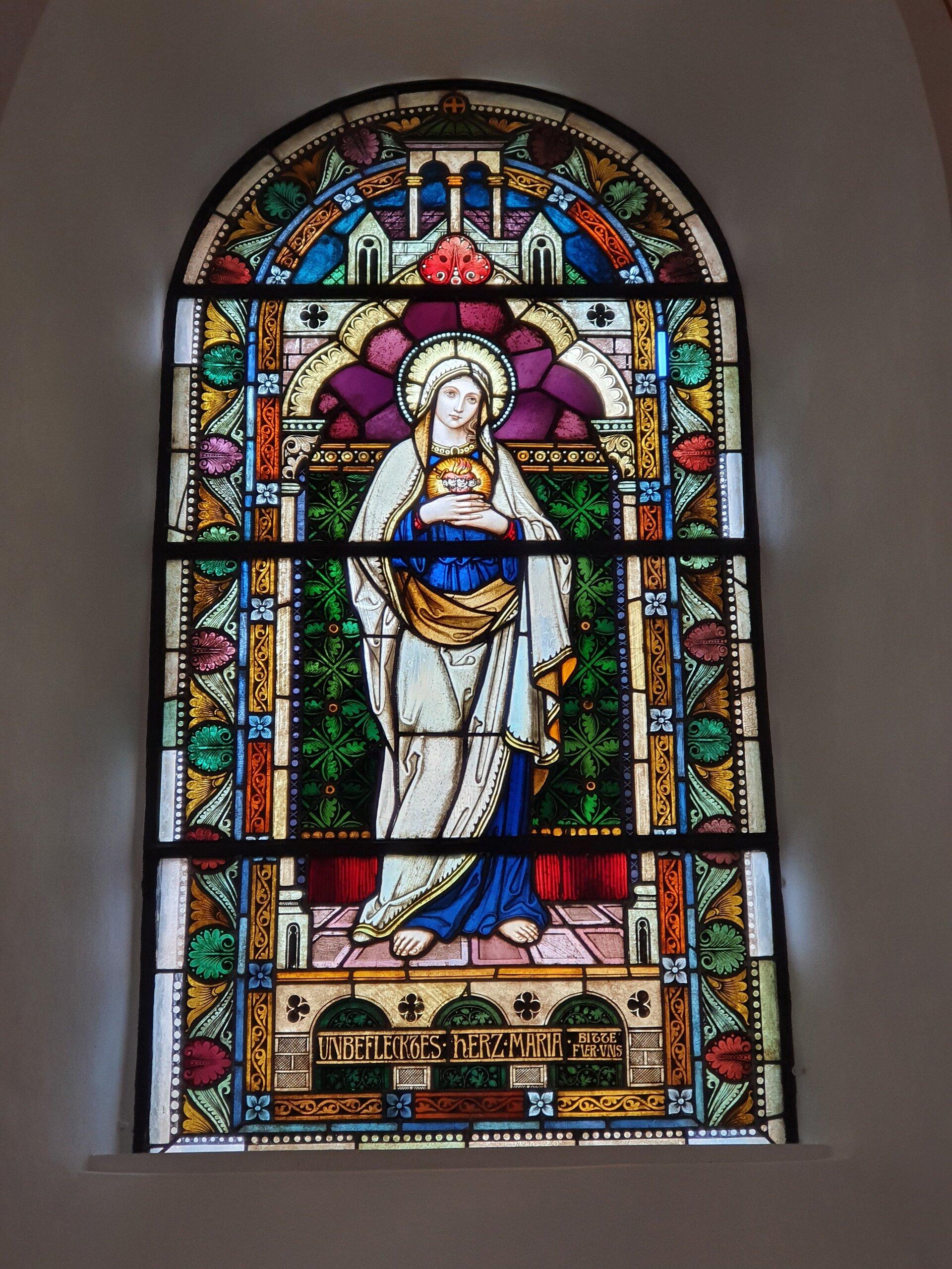 Dieterode Fenster Maria