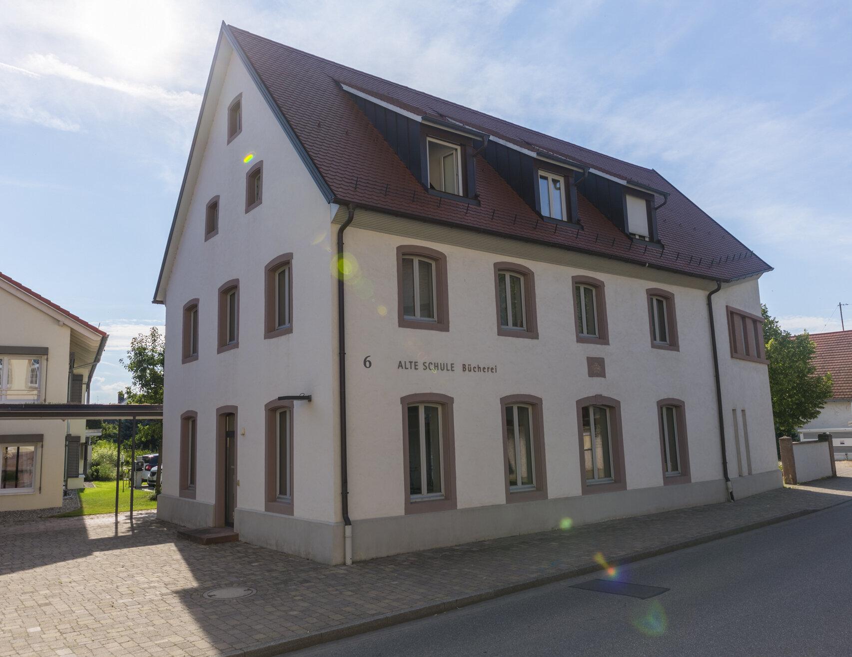 Bücherei Gebäude