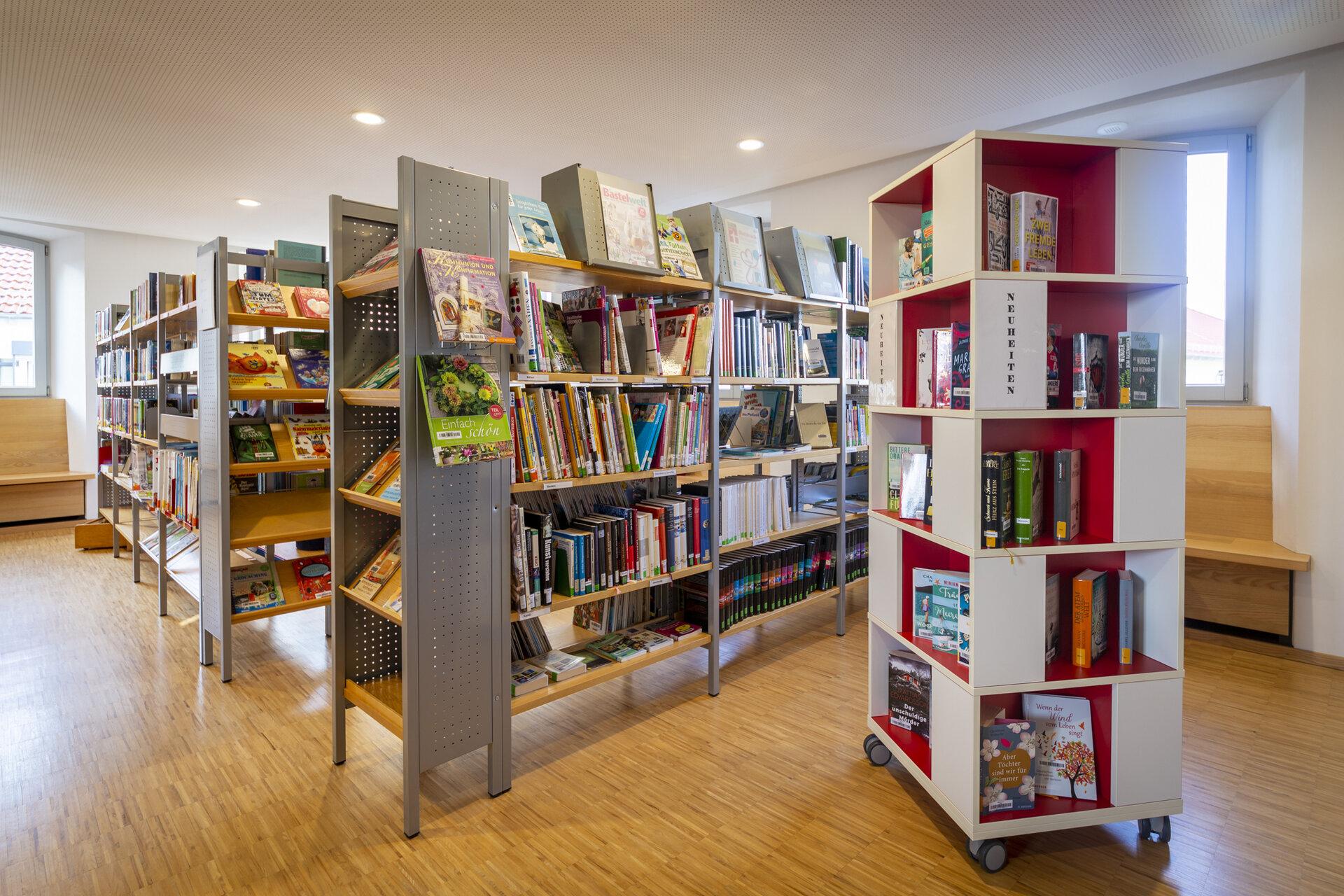 Bücherei Bücherregale