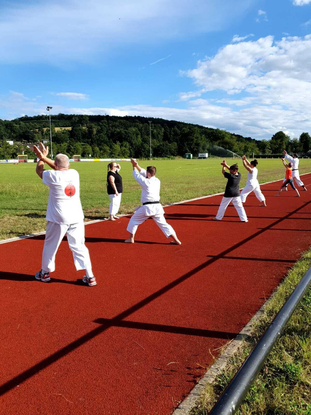 Training im Freien
