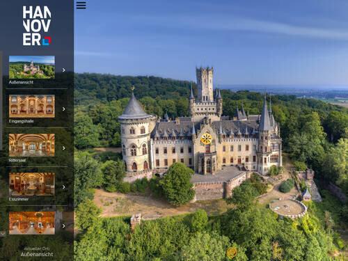 Schloss Marienburg – 360°-Tour