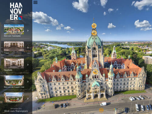 Neues Rathaus – 360°-Tour