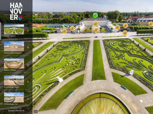 Großer Garten – 360°-Tour