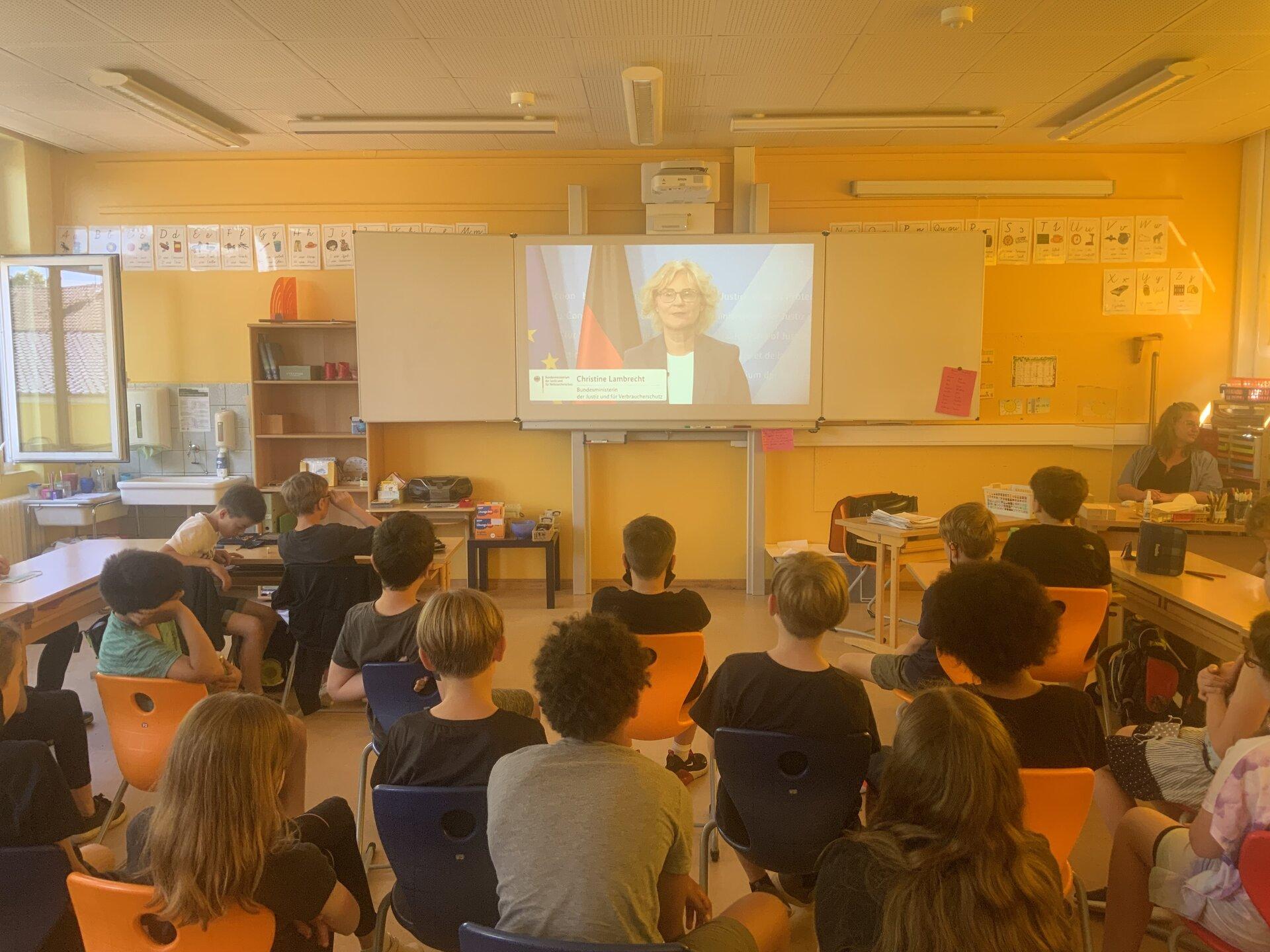Digitale Eröffnung des Anne Frank Tages am 11. 6.2021 mit Bundesjustizministerin