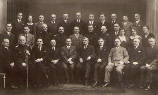 Die Gemeindeverwaltung von Wilkau 1926