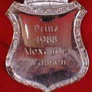 Prinzenplakette 1988-1989