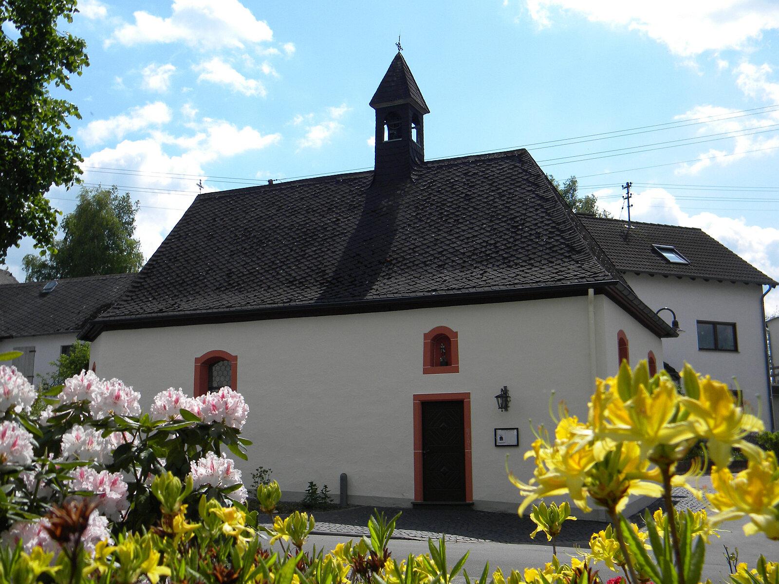 Ney - die Wendelinus-Kapelle - das Herzstueck von Ney