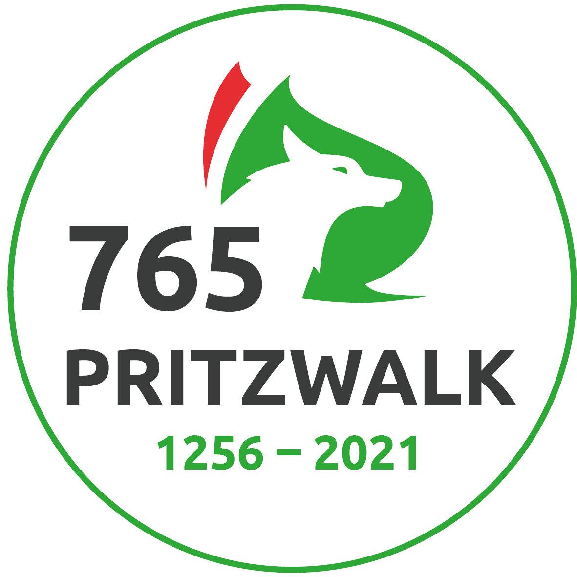 Logo 765 Jahre Pritzwalk