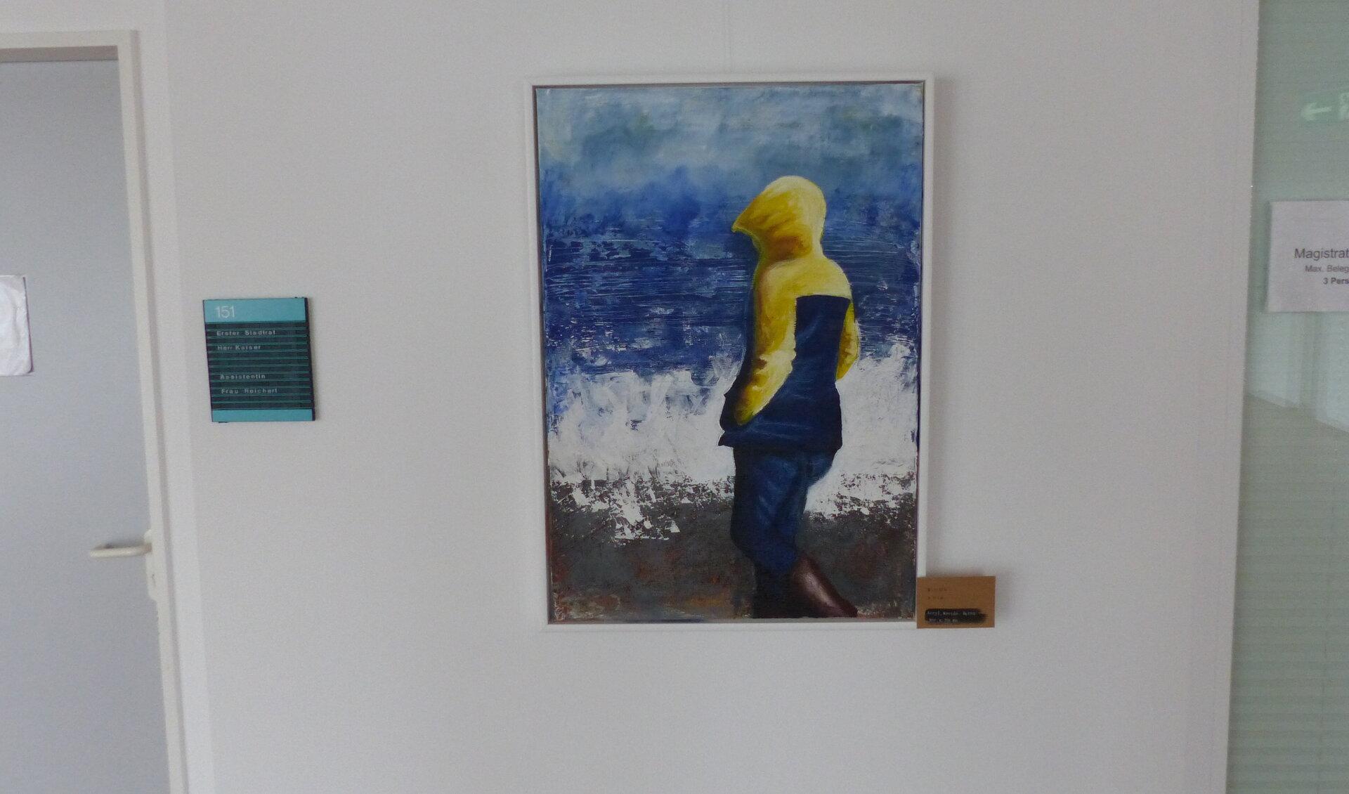 Ausstellung auf den Fluren im Rathaus - Hoffmann