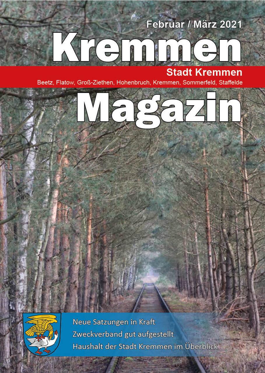 Kremmen Magazin 01/2021
