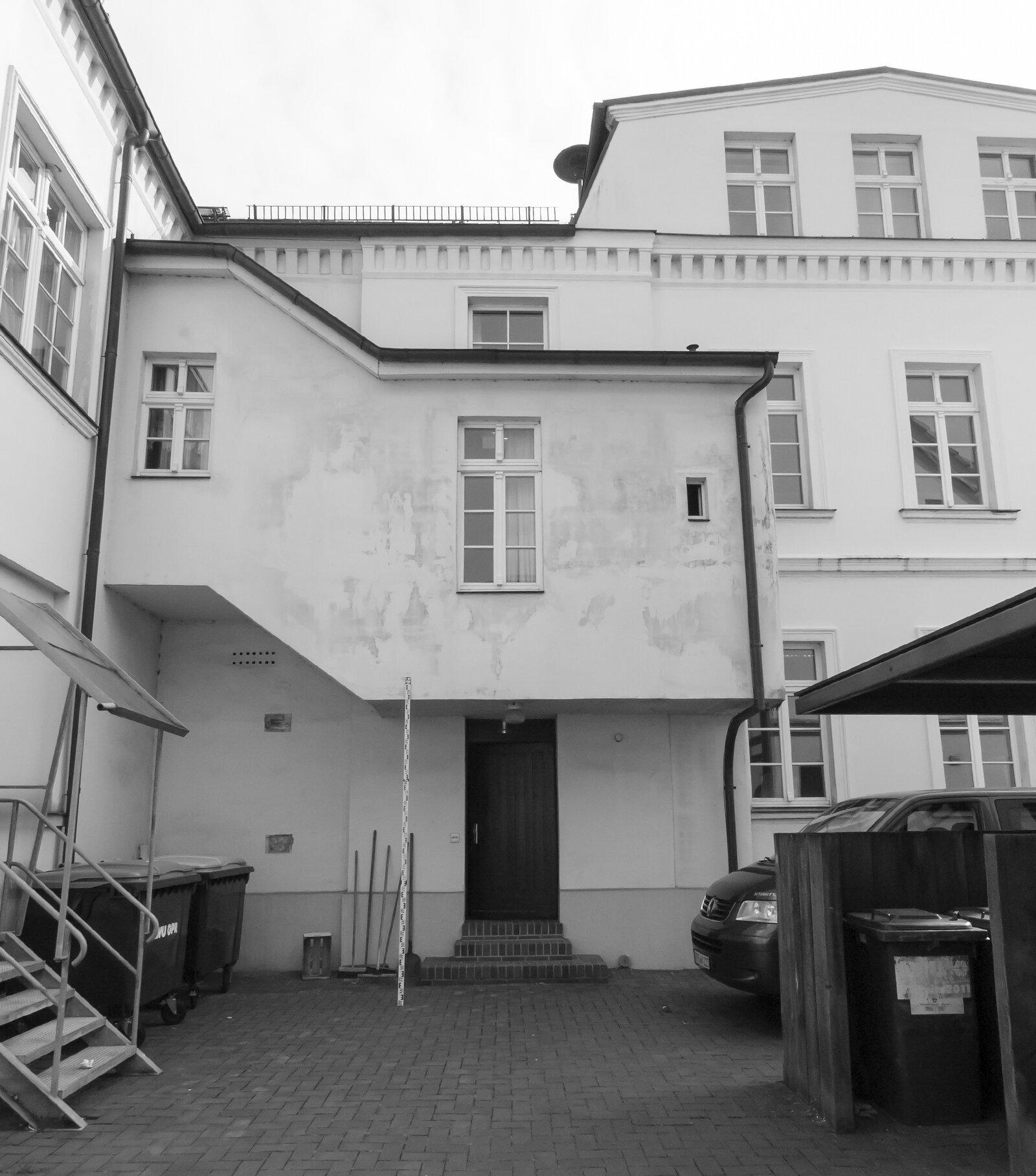 Hofansicht vor der Sanierung Foto: Gemeinde Wusterhausen/Dosse