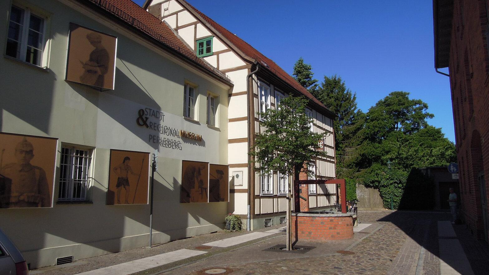 Stadt Perleberg | Außenansicht Museum Perleberg (Mönchort)