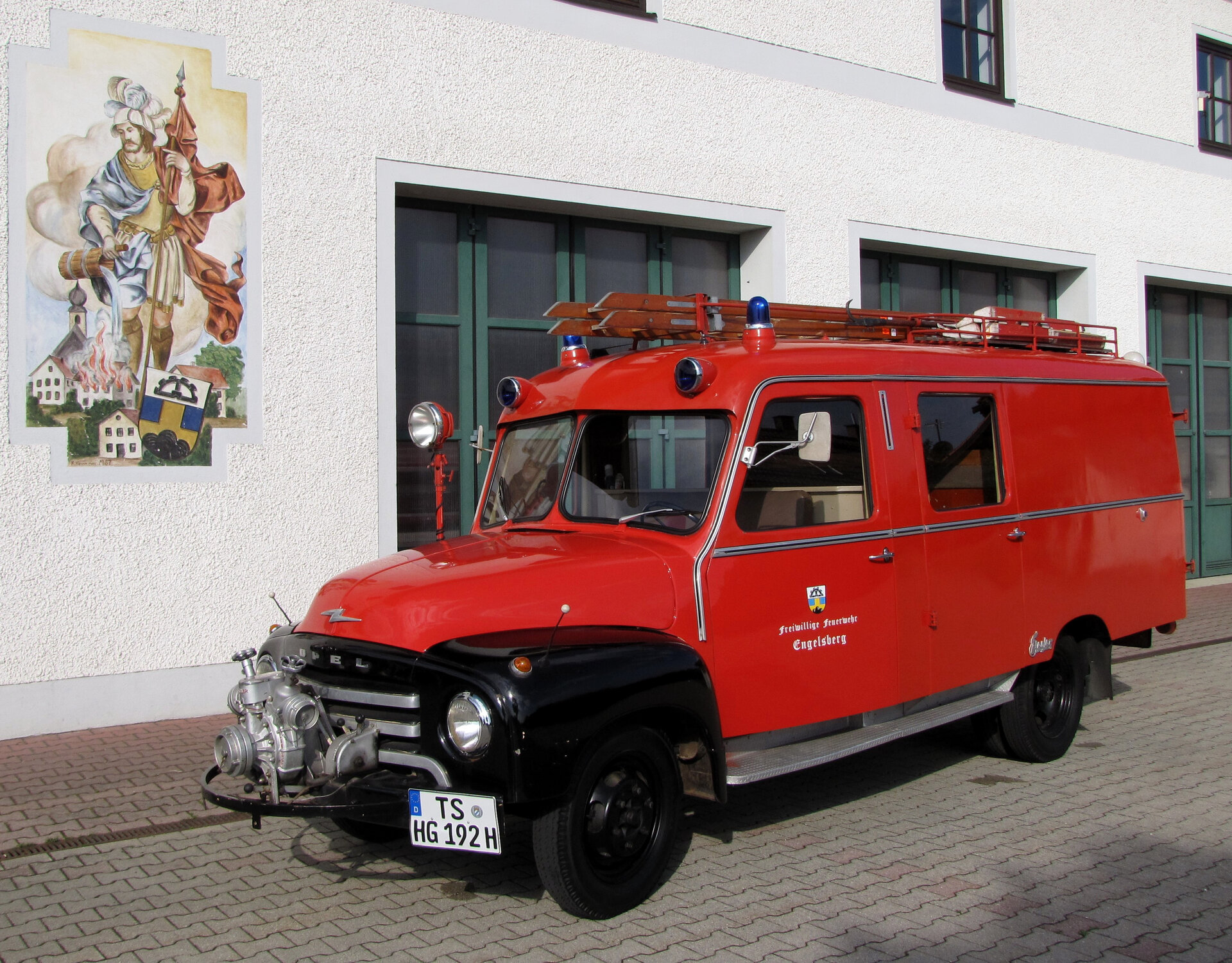 LF8 Opel Blitz Bj.1956