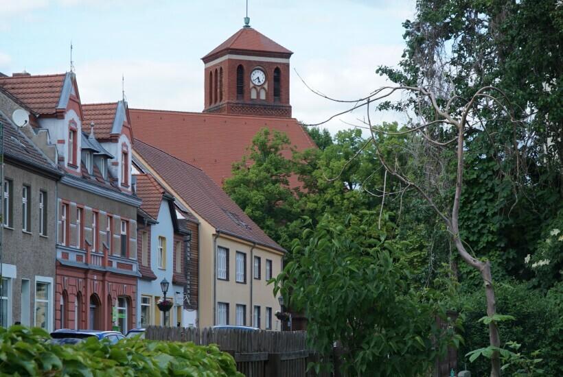 Altstadtblick mit Kirche