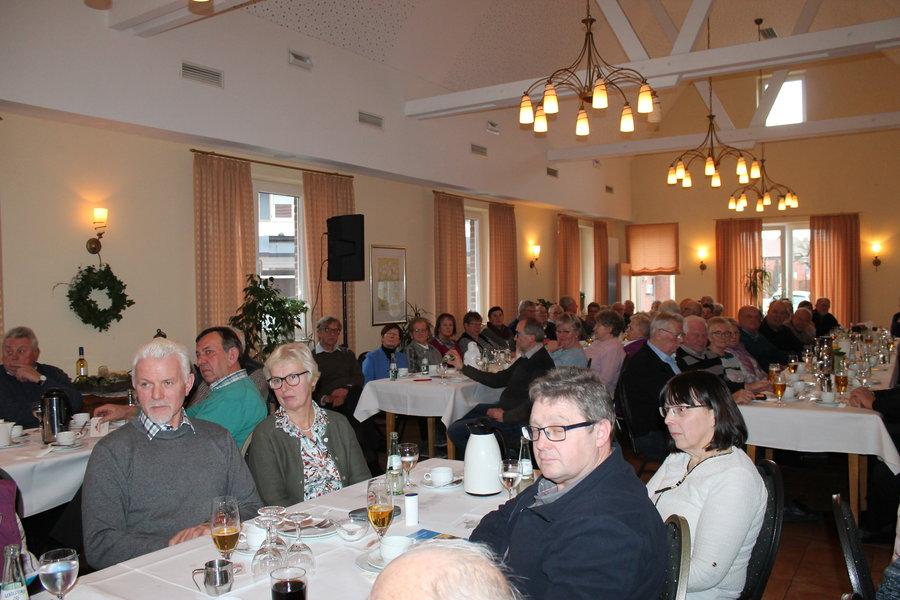 Mitgliederversammlung im Saal Pieper